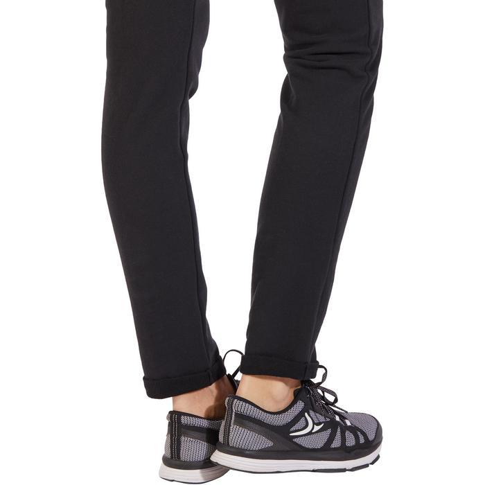 Damesbroek 920 voor gym en pilates, slim fit, zwart