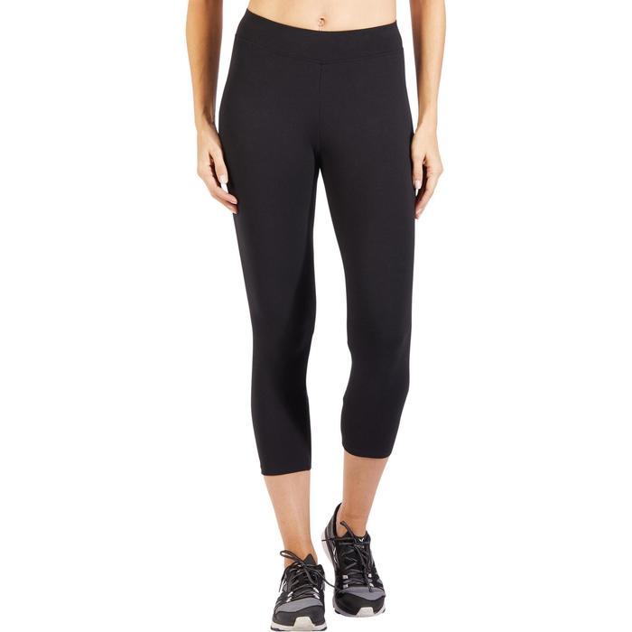 Legging 7/8 520 Gym & Pilates femme  noir - 1318335