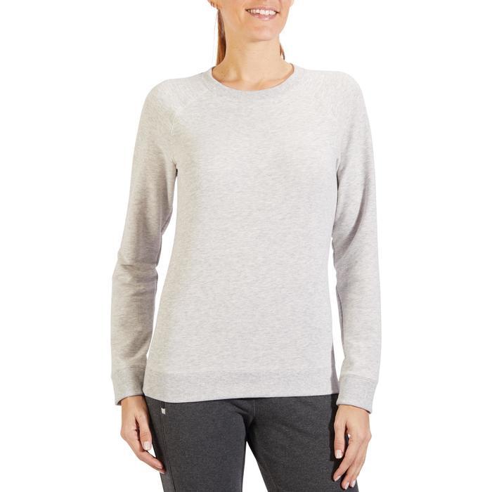 Sweat-shirt 100 Gym & Pilates Femme - 1318363