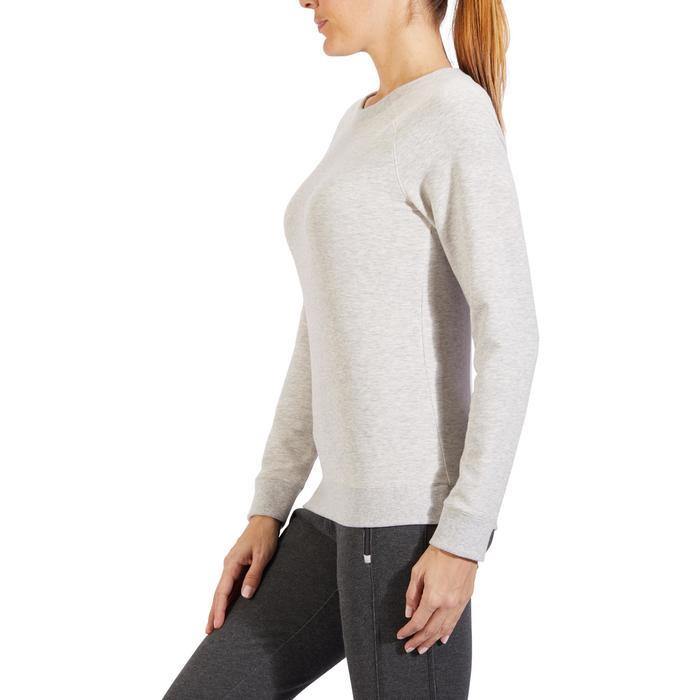 Sweat-shirt 100 Gym & Pilates Femme - 1318373