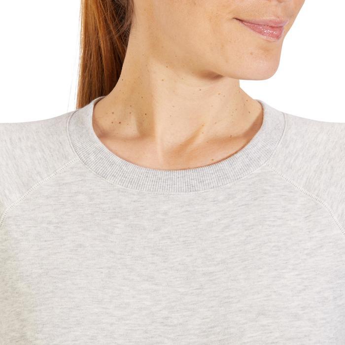 Sweat-shirt 100 Gym & Pilates Femme - 1318376