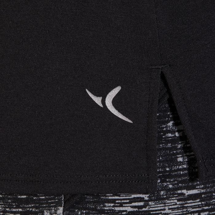 T-Shirt 520 manches courtes Gym & Pilates femme noir