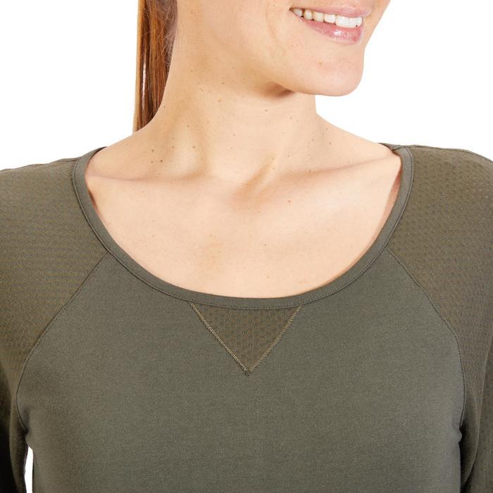 T-Shirt 900 manches longues Gym & Pilates Femme - 1318391