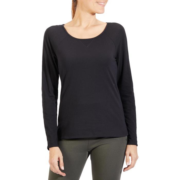 T-Shirt 900 manches longues Gym & Pilates Femme - 1318398