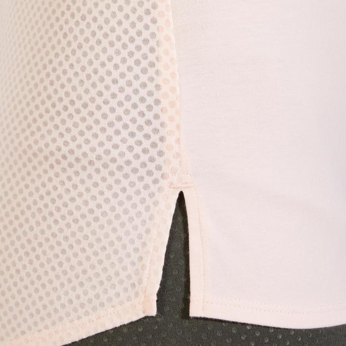 T-Shirt 900 manches courtes Gym & Pilates femme - 1318399