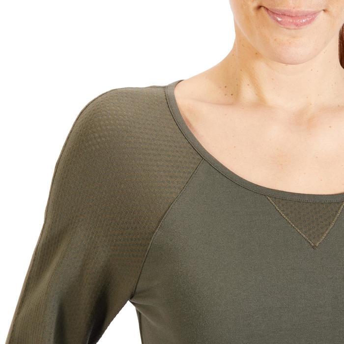 T-Shirt 900 manches longues Gym & Pilates Femme - 1318404