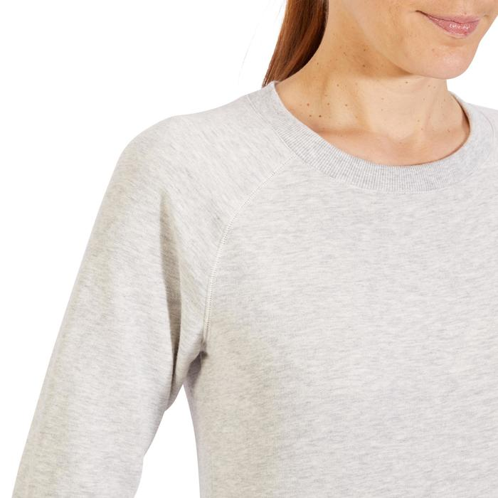 Sweat-shirt 100 Gym & Pilates Femme - 1318408