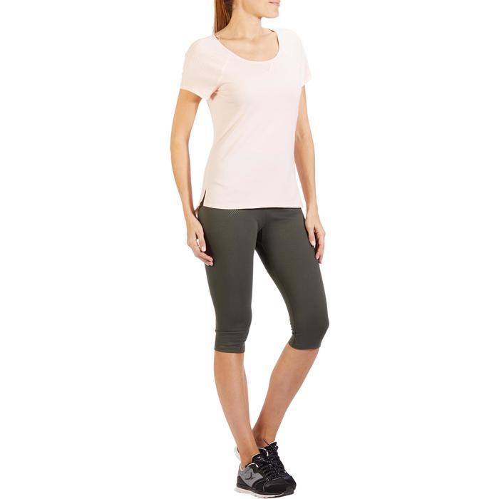 T-Shirt 900 manches courtes Gym & Pilates femme - 1318419