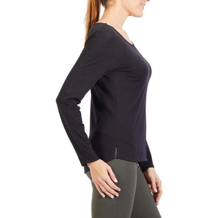T-Shirt 900 manches longues Gym & Pilates Femme - 1318428