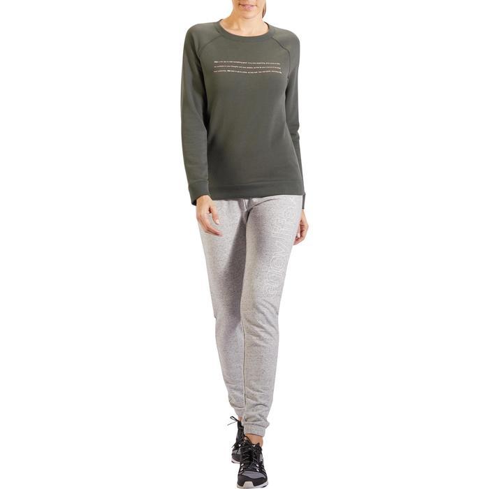 Sweat-shirt 100 Gym & Pilates Femme - 1318431