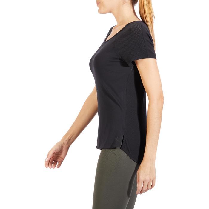 T-Shirt 900 manches courtes Gym & Pilates femme - 1318452