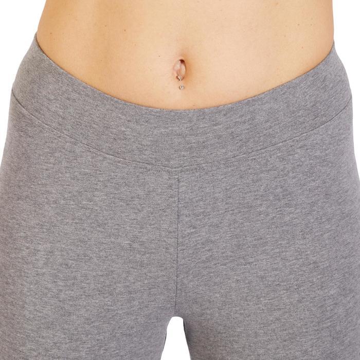 Legging 7/8 520 Gym & Pilates femme gris chiné - 1318499