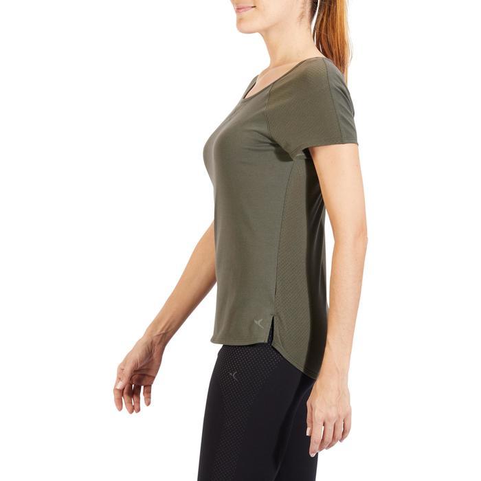 T-Shirt 900 manches courtes Gym & Pilates femme - 1318505