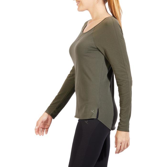 T-Shirt 900 manches longues Gym & Pilates Femme - 1318527