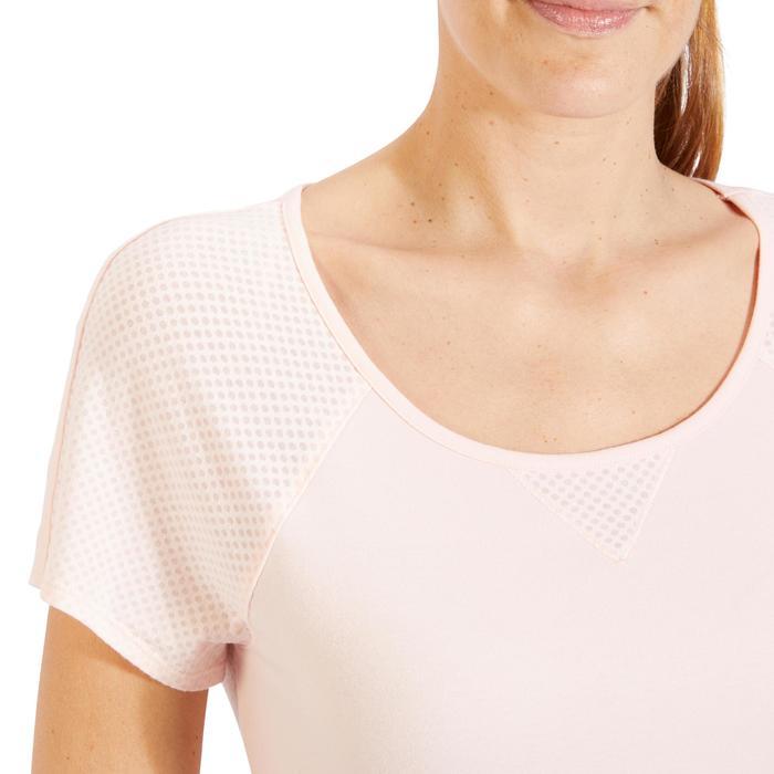 T-Shirt 900 manches courtes Gym & Pilates femme - 1318538