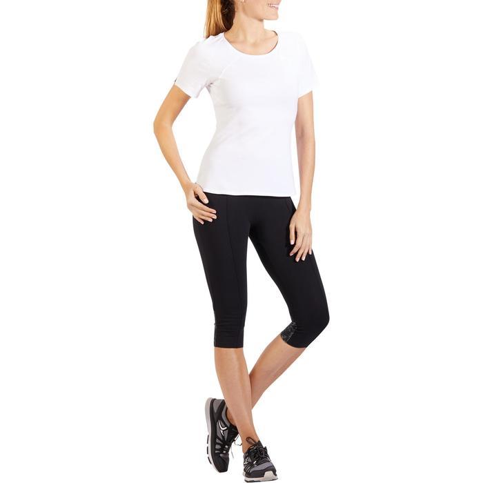 Dames kuitbroek 520 voor gym en pilates zwart
