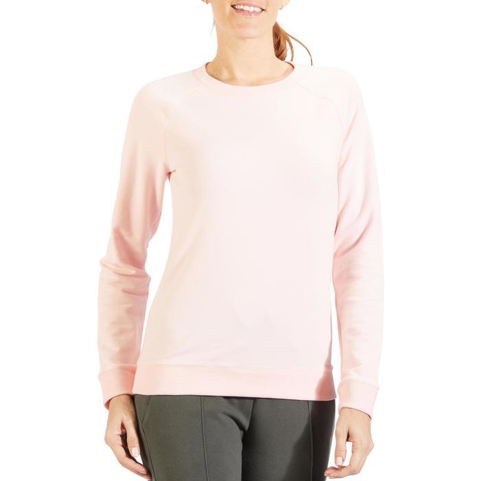 Sweat-shirt 100 Gym & Pilates Femme - 1318543