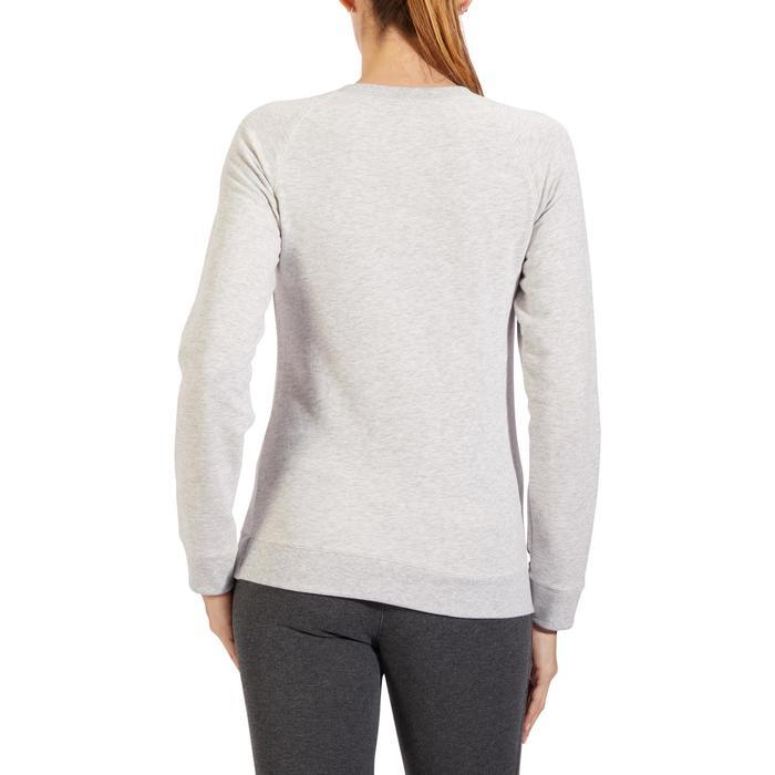 Sweat-shirt 100 Gym & Pilates Femme - 1318545