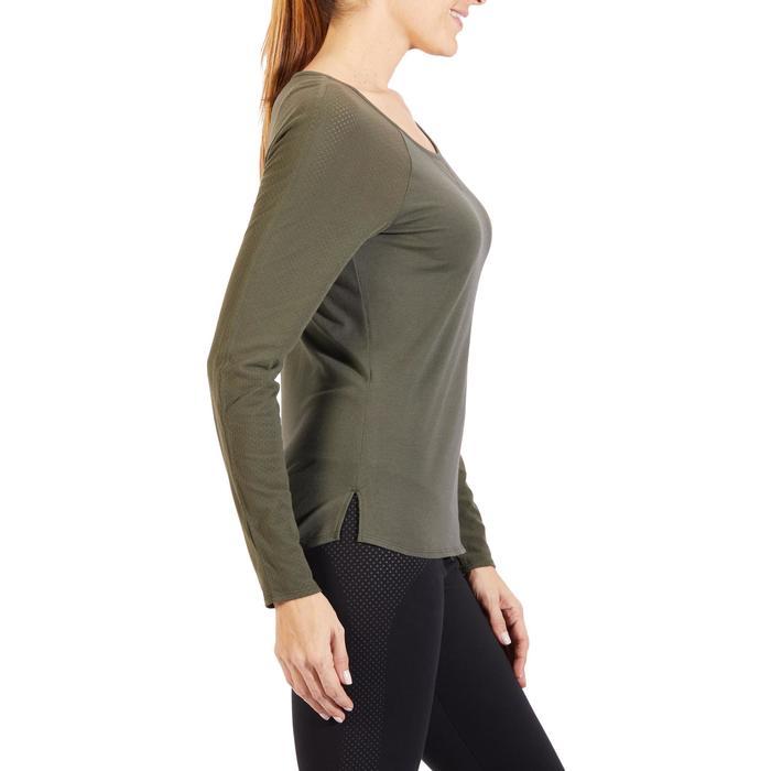 T-Shirt 900 manches longues Gym & Pilates Femme - 1318555