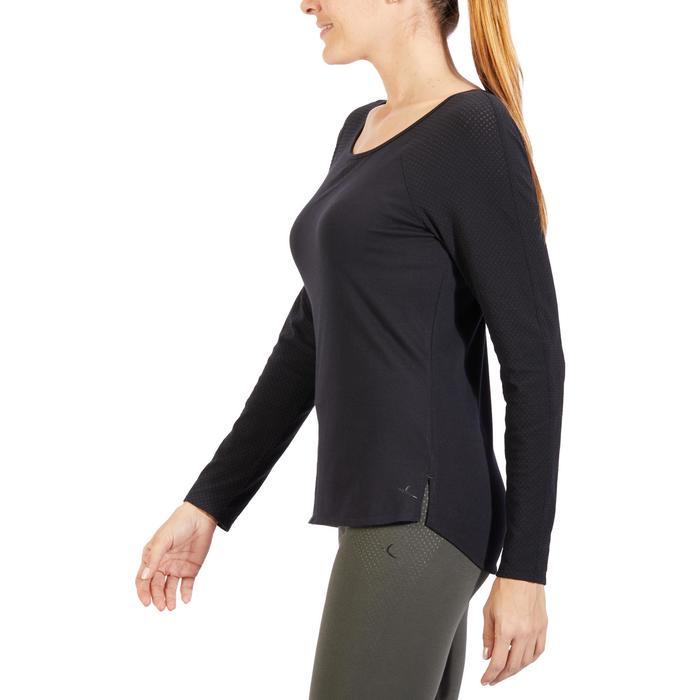 T-Shirt 900 manches longues Gym & Pilates Femme - 1318574