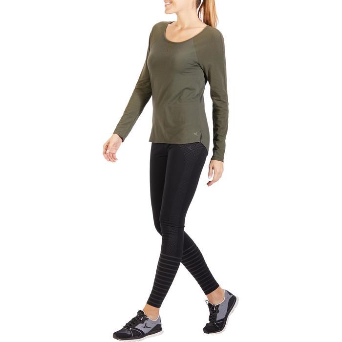 T-Shirt 900 manches longues Gym & Pilates Femme - 1318582
