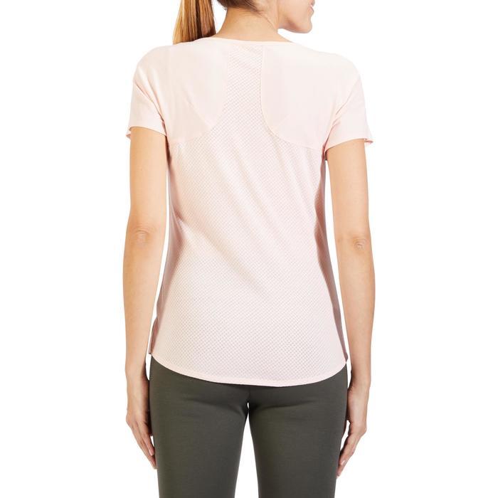 T-Shirt 900 manches courtes Gym & Pilates femme - 1318585