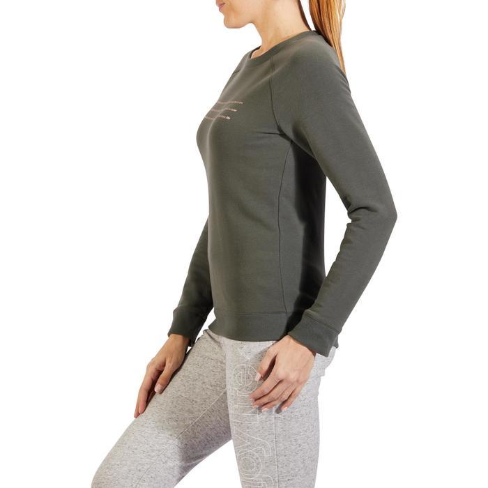 Sweat-shirt 100 Gym & Pilates Femme - 1318605