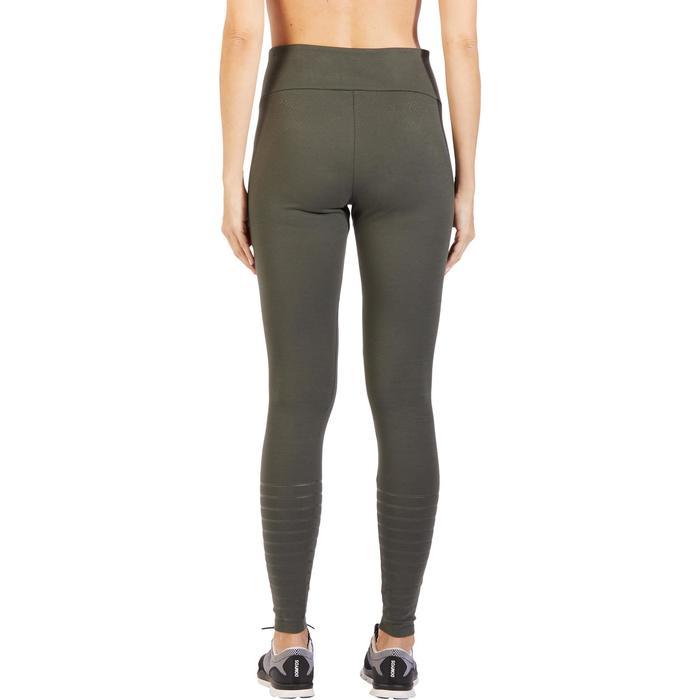 Legging  900 Slim Gym & Pilates Femme kaki