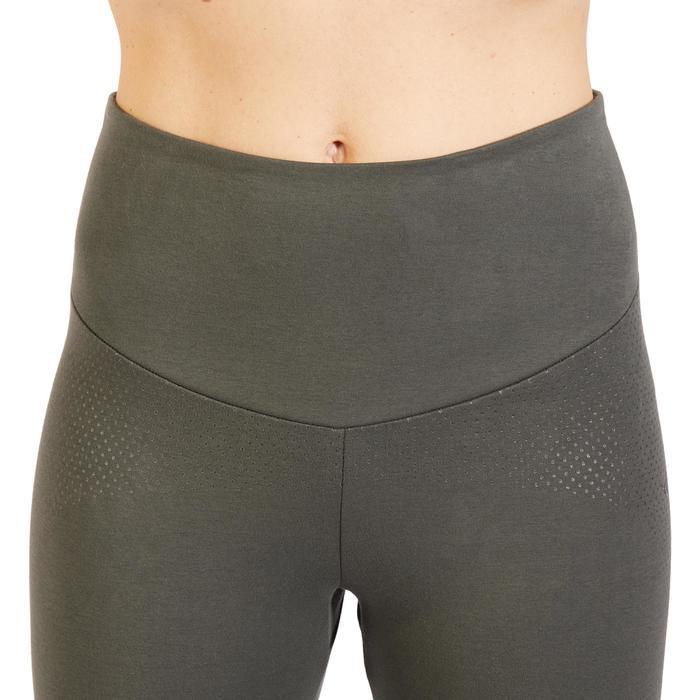 Leggings Gym 900 Slim Shape Fitness Damen khaki