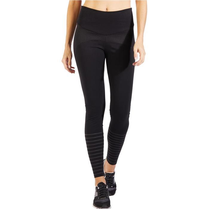 Leggings Gym 900 Slim Shape Damen schwarz