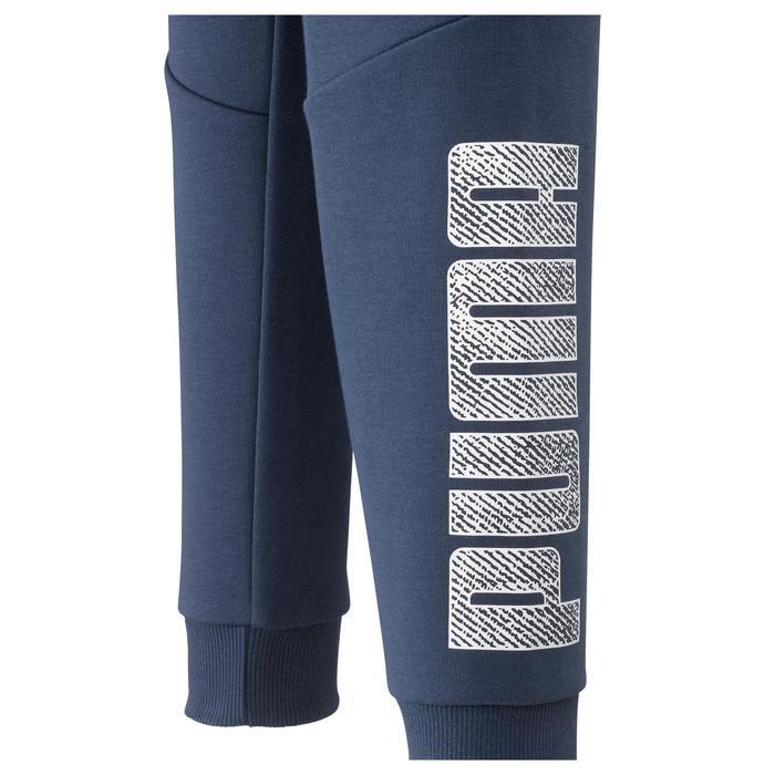 Pantalon Fitness garçon bleu