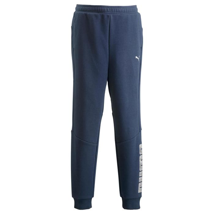 Pantalon Fitness garçon bleu - 1318685