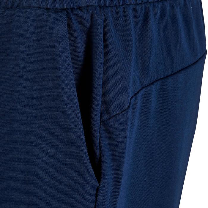 Short Fitness garçon bleu - 1318692