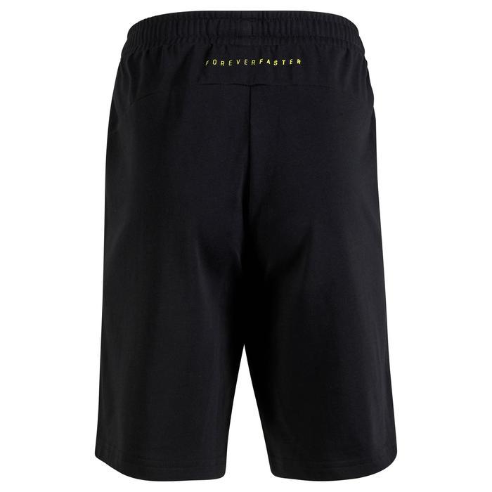 Short Fitness garçon noir - 1318694