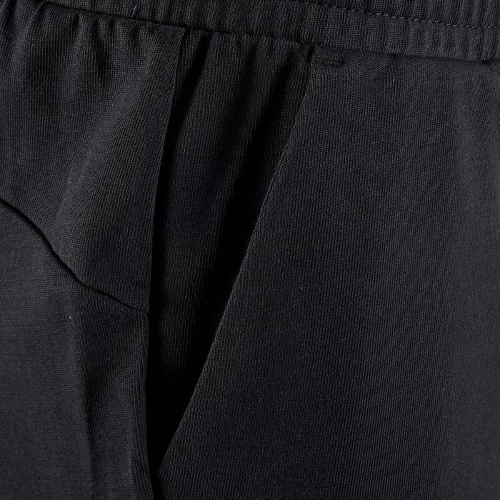 Short Fitness garçon noir - 1318712