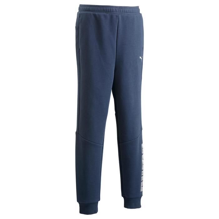 Pantalon Fitness garçon bleu - 1318714