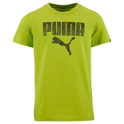 T-shirt Fitness jongens Puma DryCell groen