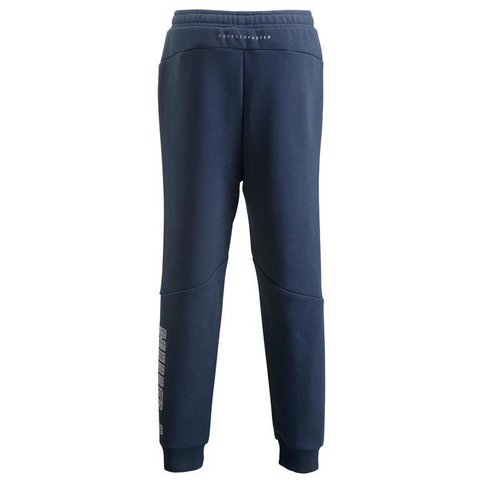 Pantalon Fitness garçon bleu - 1318730