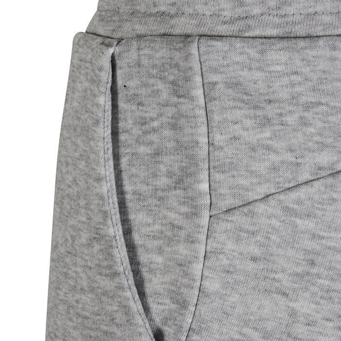 Pantalon Fitness fille gris - 1318747