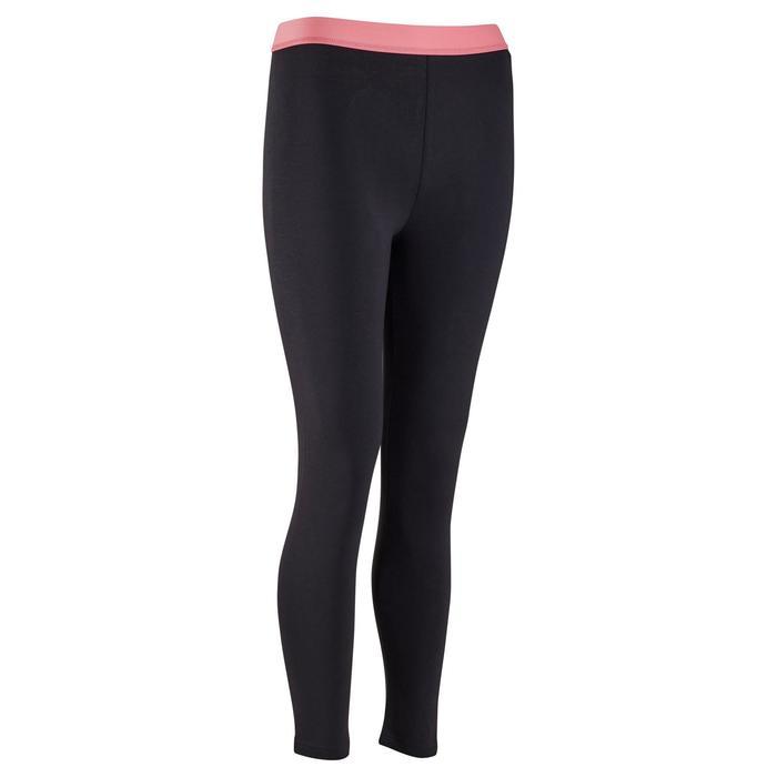 Legging Fitness fille gris - 1318748