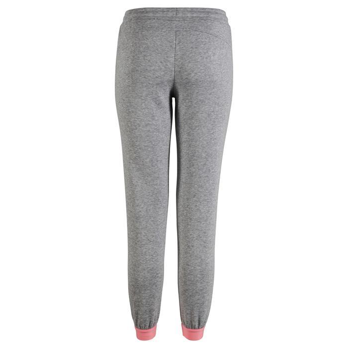 Pantalon Fitness fille gris - 1318762