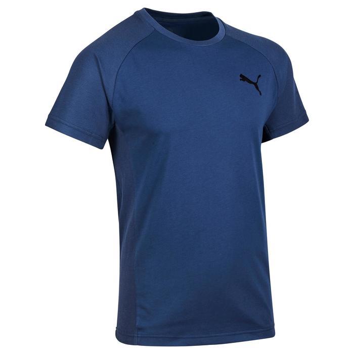 T-shirt PUMA Gym & Pilates homme bleu Evostripe - 1318828