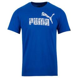 T-shirt PUMA Gym & Pilates homme bleu Summer