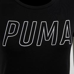 Camiseta PUMA gimnasia y pilates mujer negro
