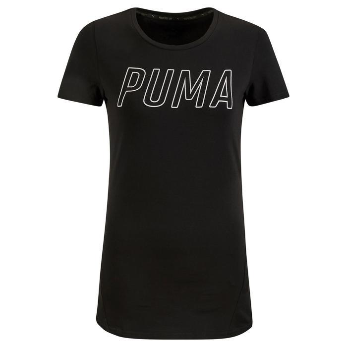 Dames T-shirt Puma voor gym en pilates zwart