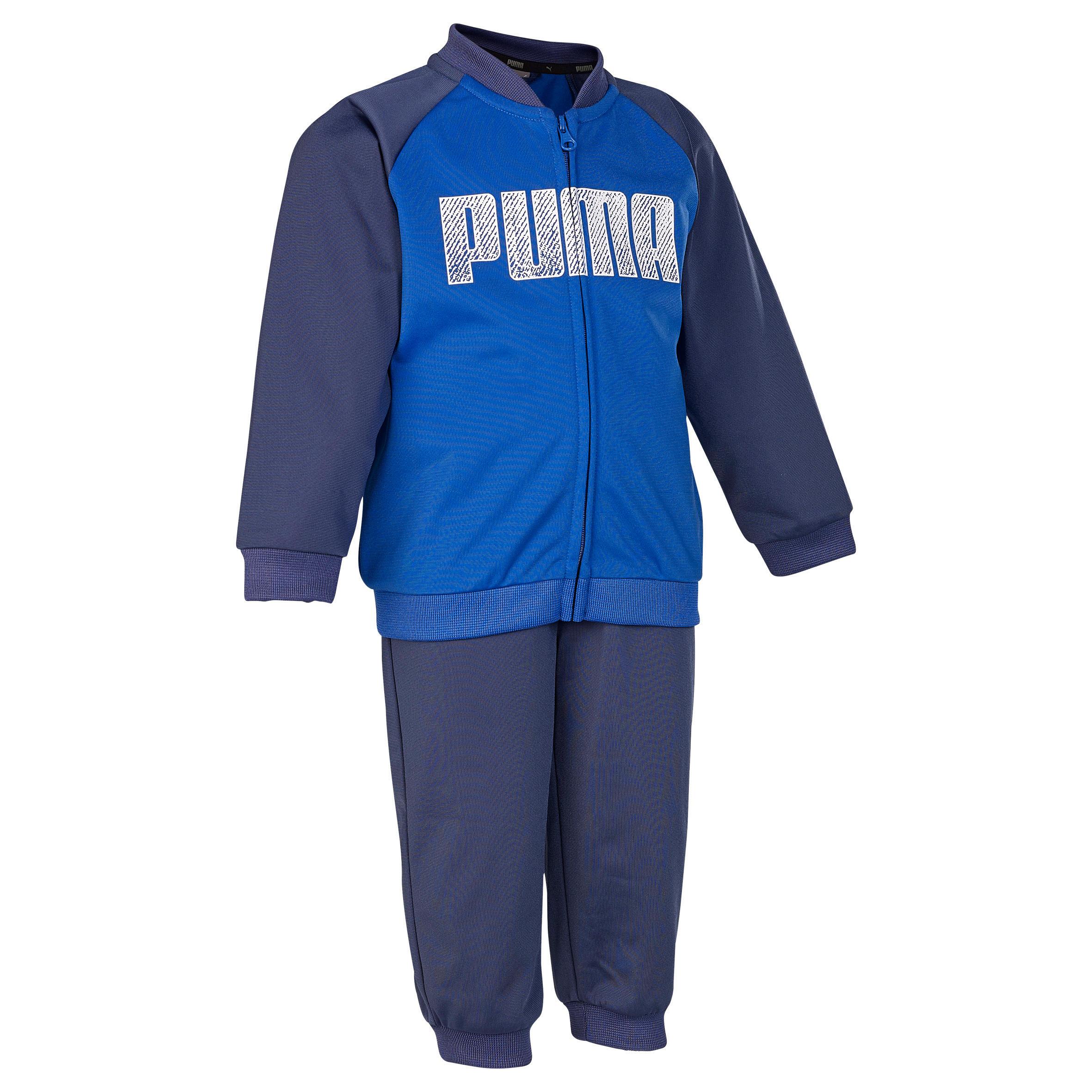 Puma Trainingspak voor kleutergym blauw