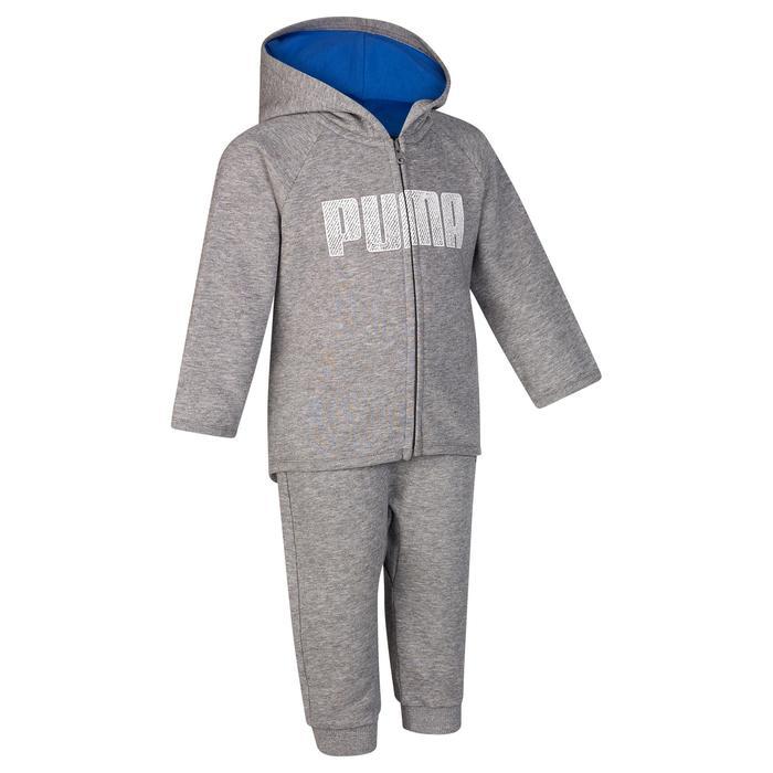 Survêtement baby gris bleu