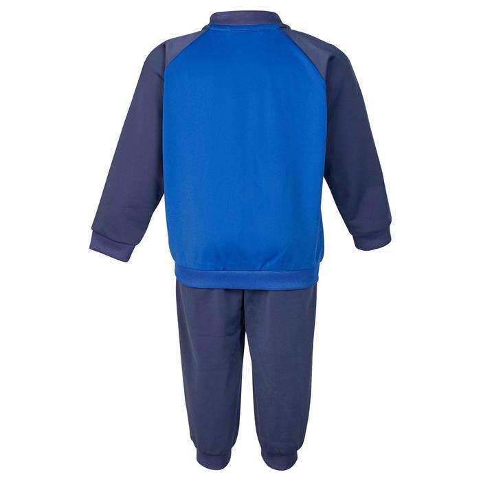 Trainingspak voor kleutergym blauw