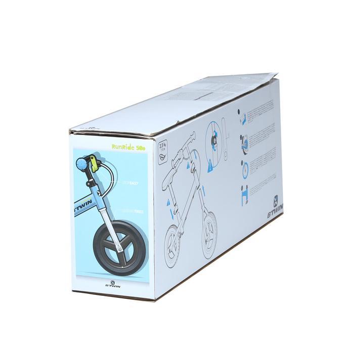 Run Ride 520 Cruiser Kids' 10 -Inch Balance Bike - Black