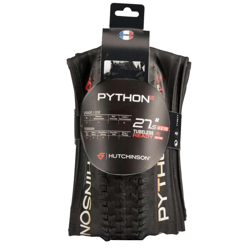 COPERTONI MTB TERRENO SECCO Ciclismo, Bici - Copertone PYTHON 2 27,5x2,1 HUTCHINSON - PEZZI DI RICAMBIO MTB AM